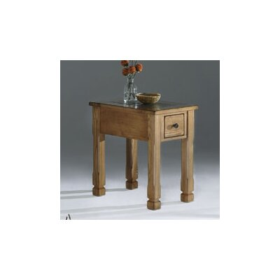 Progressive Furniture Inc. Rustic Ridge Chairside Table