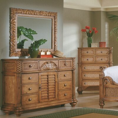Bay Isle Home Paradiso 8 Drawer Combo Dre..