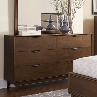 Corrigan Studio Alperton 6 Drawer Dresser