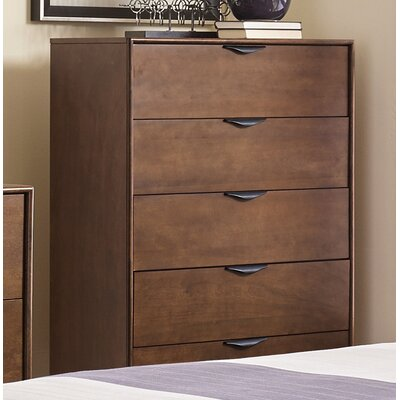 Corrigan Studio Alperton 5 Drawer Chest