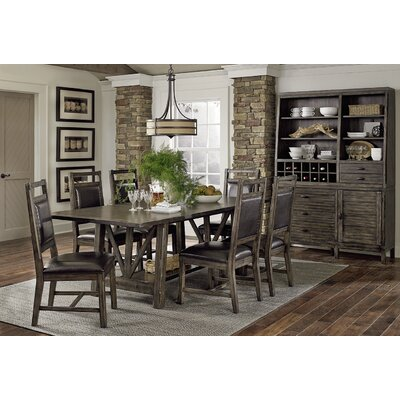 Progressive Furniture Inc. Crossroads 7 Piece Dining Set