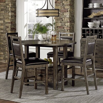 Progressive Furniture Inc. Crossroads 5 Piece Dining Set