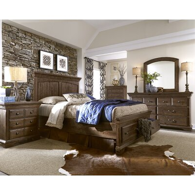 Progressive Furniture Inc. Copenhagen Panel Customizable Bedroom Set