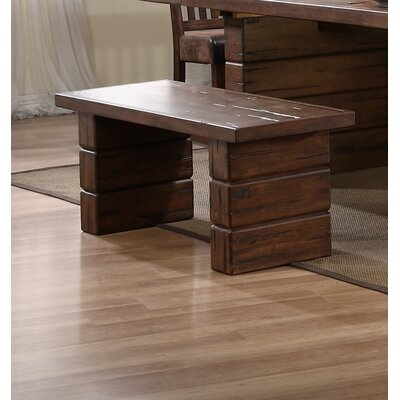 Loon Peak Hilton Wood Kitchen Bench