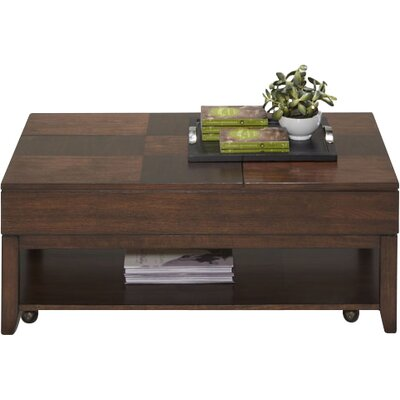Progressive Furniture Inc. Daytona Coffee Table with Double Lift-Top
