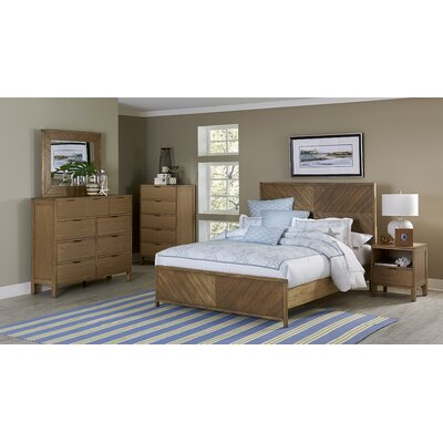 Progressive Furniture Inc. Strategy Panel Five Piece Bedroom Set