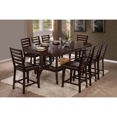 Progressive Furniture Inc. Bobbie 9 Piece Dining Set