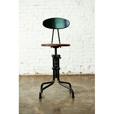 Nuevo Adjustable Height Bar Stool