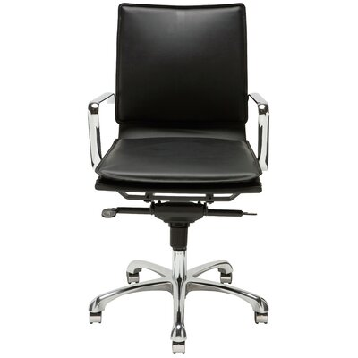 Nuevo Carlo Low-Back Office Chair with Arms