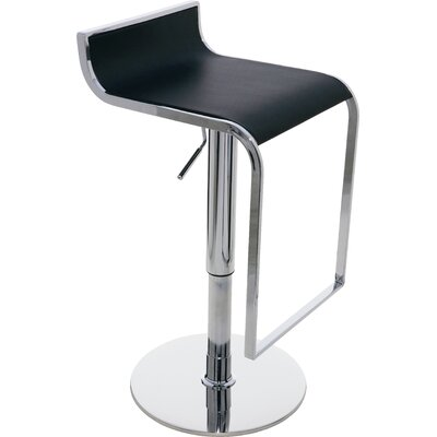 Nuevo Alexander Adjustable Height Swivel Bar Stool