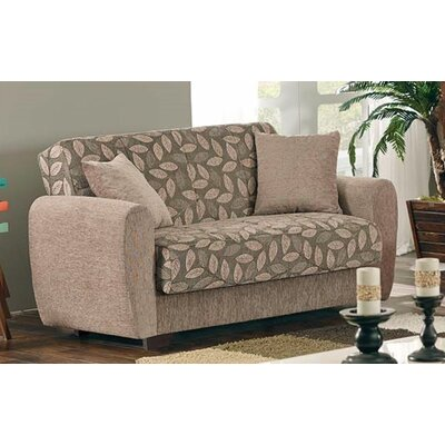 Beyan Signature Chestnut Sleeper Sofa