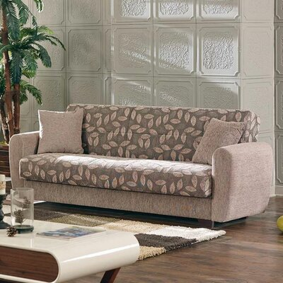 Beyan Signature Chesnut Sleeper Sofa