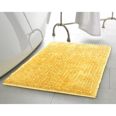Laura Ashley Home 2 Piece Butter Chenille Bath Rug Set U0026 Reviews | Wayfair
