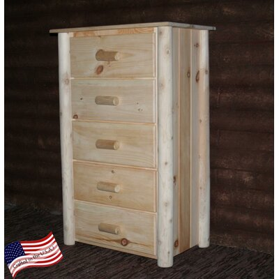 Lakeland Mills Frontier 5 Drawer Chest