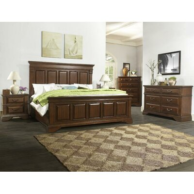 Darby Home Co Alvina Panel 5 Piece Bedroom Set