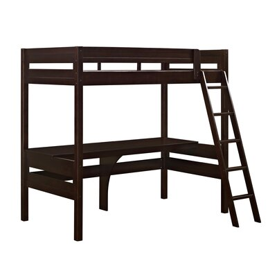 Viv + Rae Alfred Twin Loft Bed with Desk