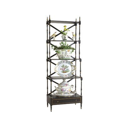Chelsea House Carnaby 71'' Etagere Bookcase