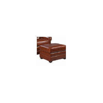 Palatial Furniture Victor Leather Ottoman