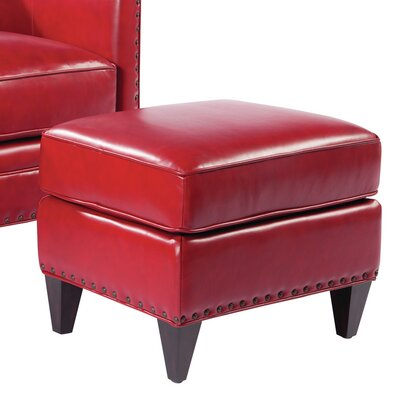 Palatial Furniture Logan Leather Ottoman