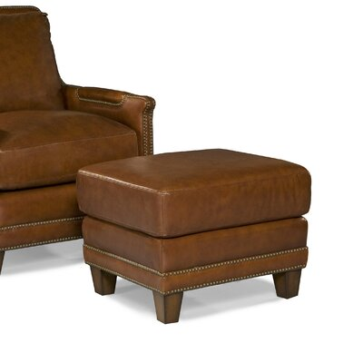 Palatial Furniture Prescott Leather Ottoman