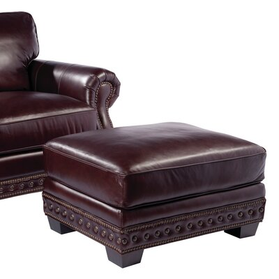 Palatial Furniture Canyon Leather Ottoman