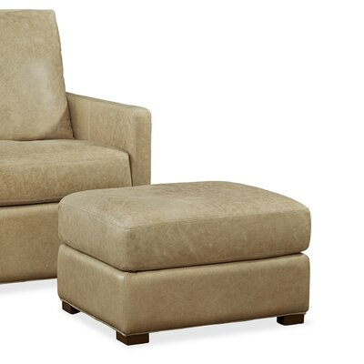 Palatial Furniture Charlotte Leather Ottoman