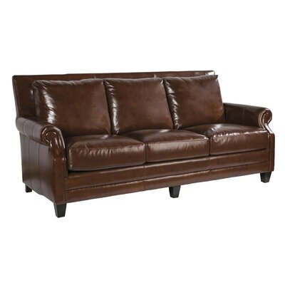Palatial Furniture Stewart Leather Sofa