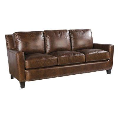 Palatial Furniture Alvarado Leather Sofa