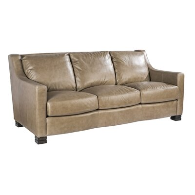 Palatial Furniture Colby Leather Sofa