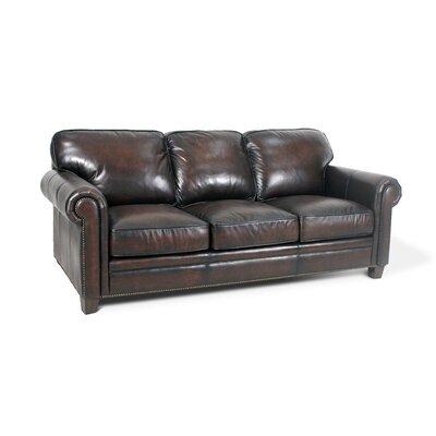 Palatial Furniture Hillsboro Leather Sofa