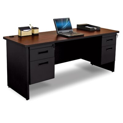Marvel Office Furniture Pronto Executive Desk with Box and File