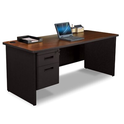 Marvel Office Furniture Pronto Executive Desk with 2 Left Drawers