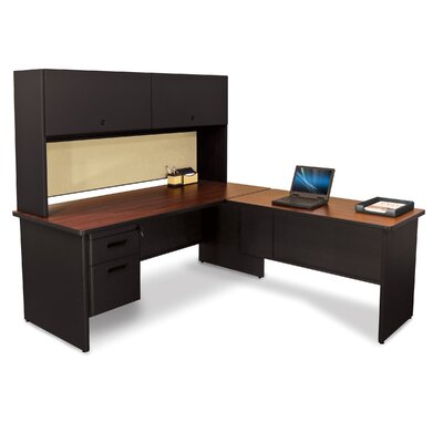 Marvel Office Furniture Pronto L-Shape Executive Desk