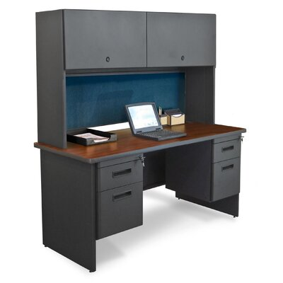 Marvel Office Furniture Pronto Double File Executive Desk