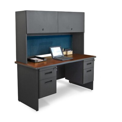 Marvel Office Furniture Pronto Flipper Door Cabinet Executive Desk
