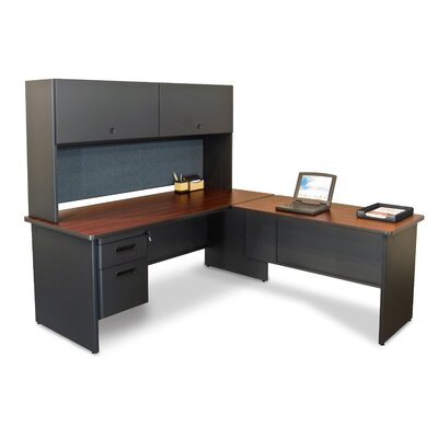 Marvel Office Furniture Pronto Return Executive Desk