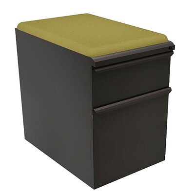 Marvel Office Furniture Zapf 2-Drawer Mobile Pedestal File Cabinet Image