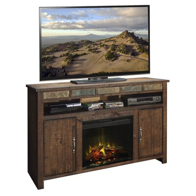 Legends Furniture Old West TV Stand with Electric Fireplace