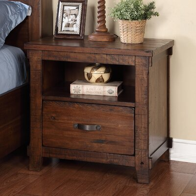 Loon Peak Camas 1 Drawer Nightstand