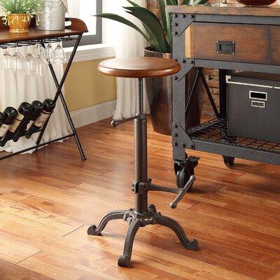 Carolina Cottage Adjustable Height Swivel Bar Stool