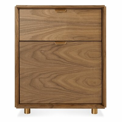 Blu Dot Dang 2 Drawer File Pedestal