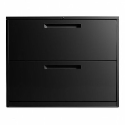 Blu Dot 2 Drawer Filing Cabinet