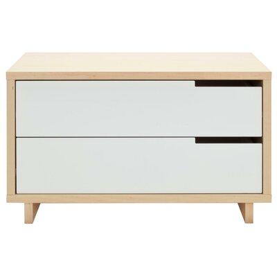 Blu Dot Modu Licious 2 Drawer Dresser U0026 Reviews | Wayfair