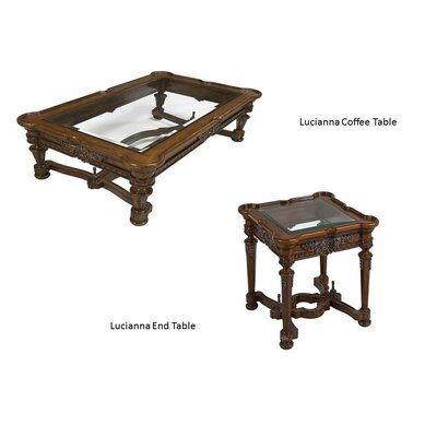 Benetti's Italia Lucianna 2 Piece Coffee Table Set