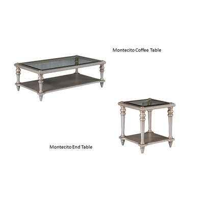 Benetti's Italia Montecito 2 Piece Coffee Table Set