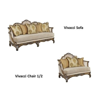 Benetti's Italia Vivacci Sofa and Loveseat Set