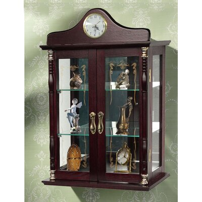 Jenlea Wall Mounted Curio Cabinet Amp Reviews Wayfair