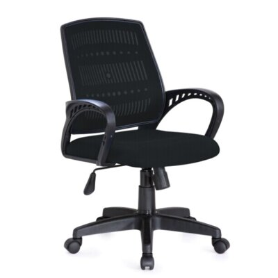 Hodedah Mid-Back Mesh Task Chair with Arms