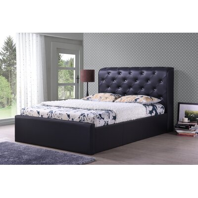 Hodedah Upholstered Platform Bed