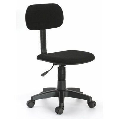 Hodedah Adjustable Low-Back Office Chair
